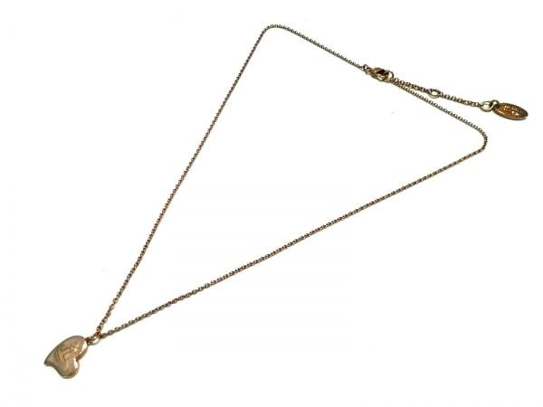 ヴィヴィアンウエストウッド ネックレス 金属素材 ゴールド ハート 2