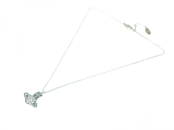 ヴィヴィアンウエストウッド ネックレス美品  - 金属素材 シルバー 2