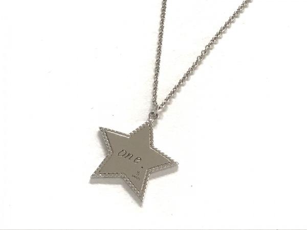 VENDOME(ヴァンドーム青山) ネックレス美品  シルバー スター 1