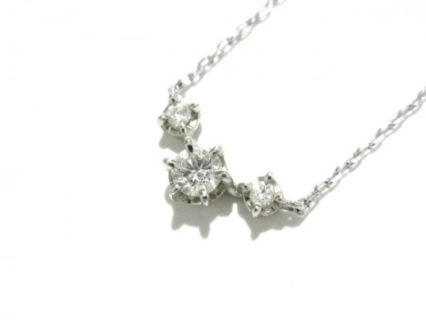 ヴァンドーム青山 ネックレス美品  Pt950×Pt850×ダイヤモンド 1