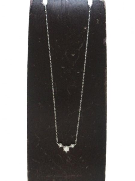 ヴァンドーム青山 ネックレス美品  Pt950×Pt850×ダイヤモンド 2
