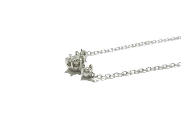 ヴァンドーム青山 ネックレス美品  Pt950×Pt850×ダイヤモンド 7
