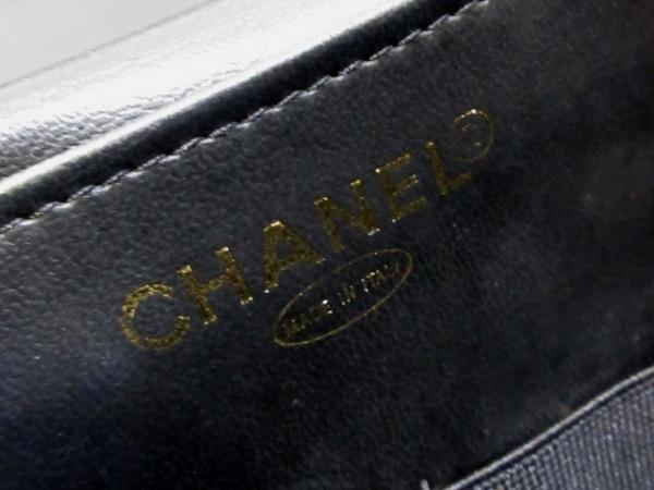 CHANEL(シャネル) バニティバッグ - 黒 キャビアスキン 7