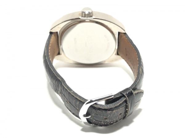アガタ 腕時計 860100.2-C03 レディース 革ベルト/型押し加工 黒 3