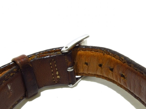 ハミルトン 腕時計 カーキ 9721A メンズ 革ベルト/裏スケ シルバー 5