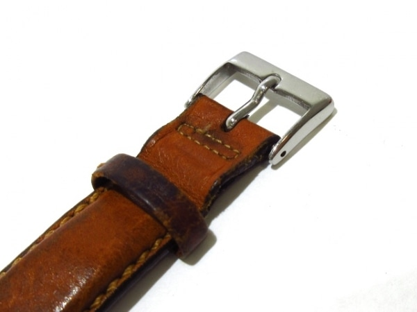 ハミルトン 腕時計 カーキ 9721A メンズ 革ベルト/裏スケ シルバー 6