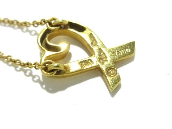 TIFFANY&Co.(ティファニー) ネックレス美品  ラヴィングハート K18YG 6
