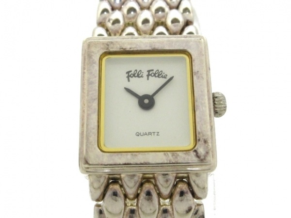 FolliFollie(フォリフォリ) 腕時計 レディース 白 1