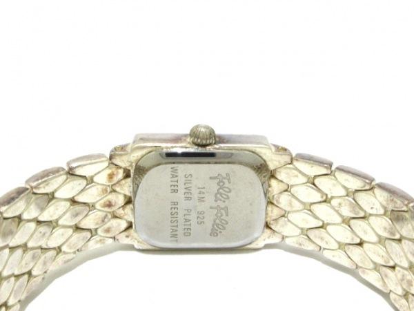 FolliFollie(フォリフォリ) 腕時計 レディース 白 4
