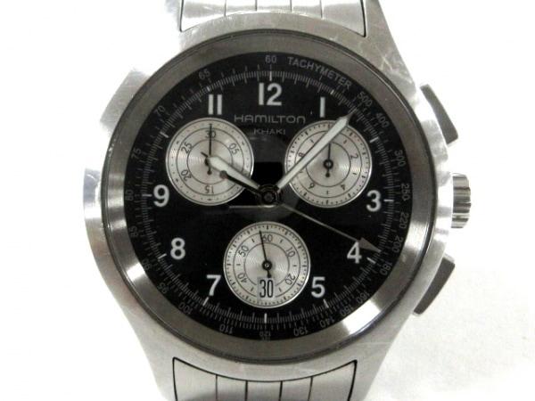 ハミルトン 腕時計 カーキ・アビエイション H764120 メンズ 黒 1