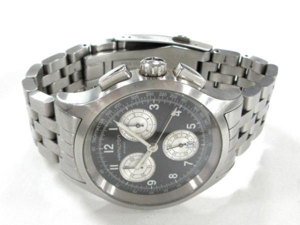 ハミルトン 腕時計 カーキ・アビエイション H764120 メンズ 黒 2