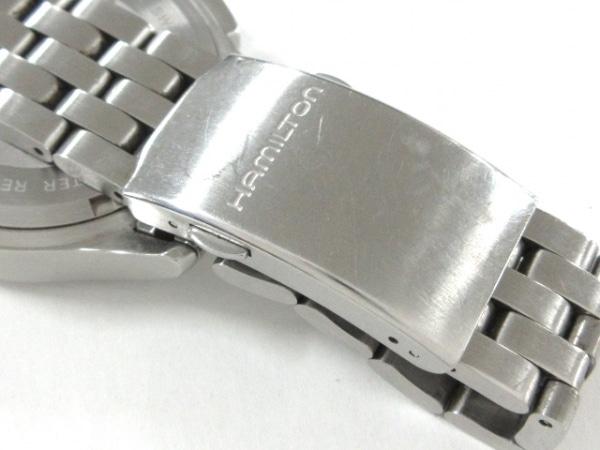 ハミルトン 腕時計 カーキ・アビエイション H764120 メンズ 黒 6