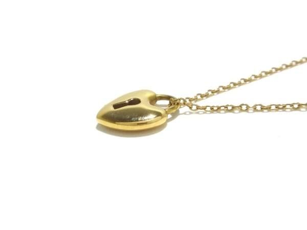 TIFFANY&Co.(ティファニー) ネックレス美品  ハートロック K18YG 7
