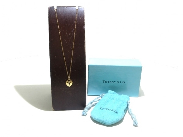 TIFFANY&Co.(ティファニー) ネックレス美品  ハートロック K18YG 8