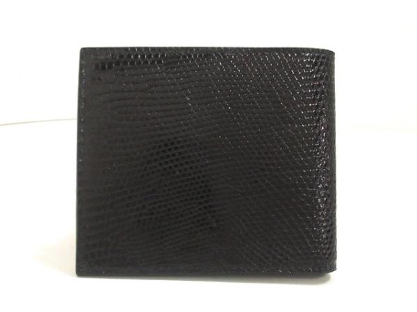 PRADA(プラダ) 札入れ美品  - M513 黒 リザード 2