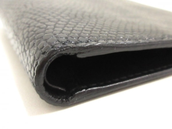 PRADA(プラダ) 札入れ美品  - M513 黒 リザード 7