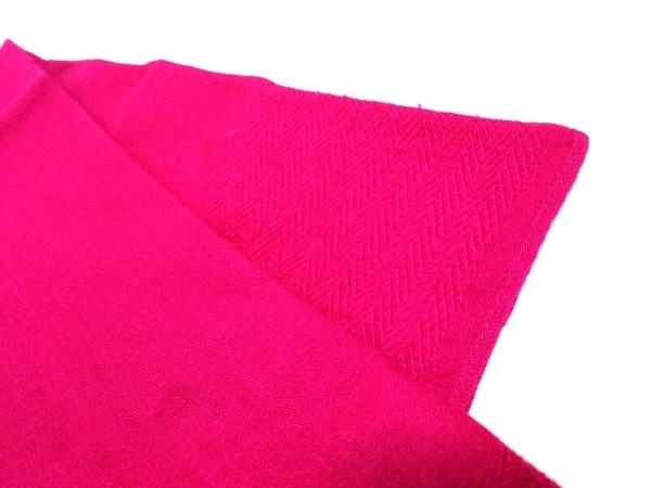 ジョルジオアルマーニ ストール(ショール) ピンク ウール×シルク 5