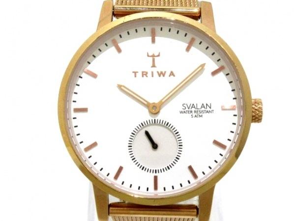 TRIWA(トリワ) 腕時計 レディース 白 1