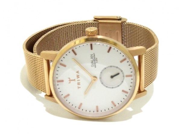 TRIWA(トリワ) 腕時計 レディース 白 2
