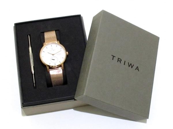 TRIWA(トリワ) 腕時計 レディース 白 9