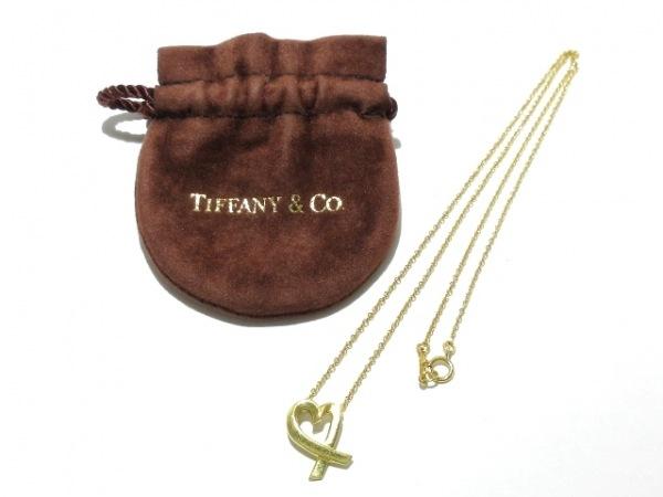 TIFFANY&Co.(ティファニー) ネックレス ラヴィングハート K18YG 9