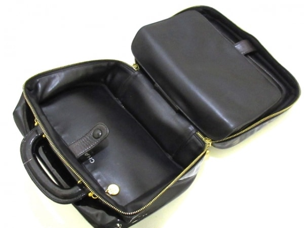 CHANEL(シャネル) バニティバッグ - A07061 黒 ゴールド金具 6