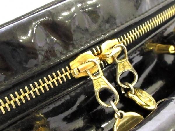 CHANEL(シャネル) バニティバッグ - A07061 黒 ゴールド金具 9