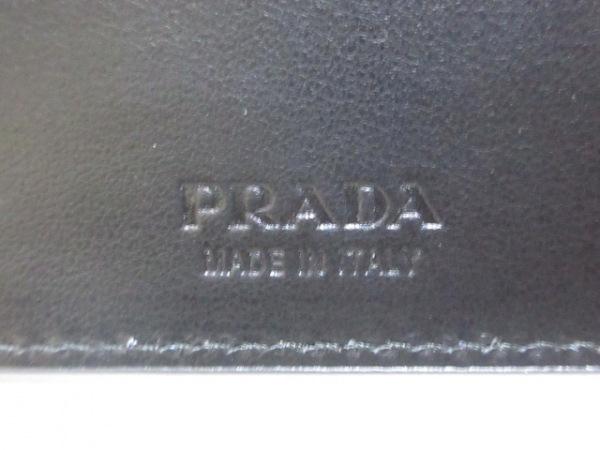 PRADA(プラダ) 札入れ - 2MO513 黒 サフィアーノレザー 5