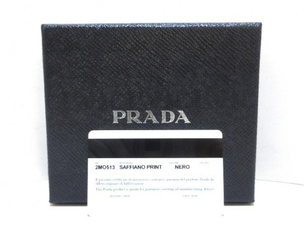 PRADA(プラダ) 札入れ - 2MO513 黒 サフィアーノレザー 9