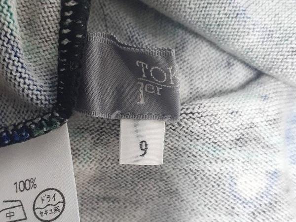 トクコ・プルミエヴォル 長袖カットソー サイズ9 M レディース美品 3