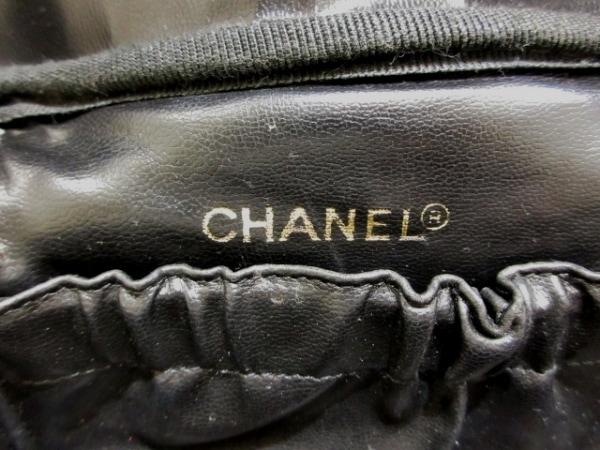 シャネル バニティバッグ - A01997 黒 ゴールド金具 キャビアスキン 7