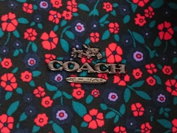COACH(コーチ) ショルダーバッグ F59436 黒×レッド×マルチ 9