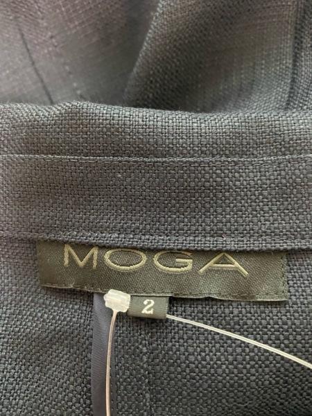 MOGA(モガ) コート サイズ2 M レディース美品  ネイビー 春・秋物 3