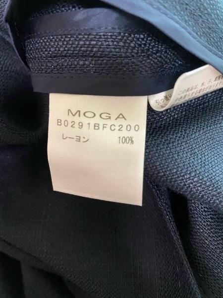 MOGA(モガ) コート サイズ2 M レディース美品  ネイビー 春・秋物 4