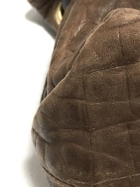 フルラ トートバッグ - ブラウン×ダークブラウン 型押し加工 レザー 5