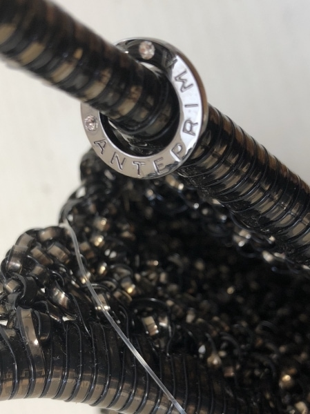 アンテプリマ ハンドバッグ ワイヤーバッグ 黒×ブロンズ ワイヤー 8