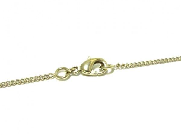 CHANEL(シャネル) ネックレス美品  ココマーク 金属素材×ウール 4
