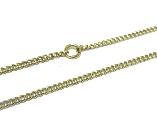 CHANEL(シャネル) ネックレス美品  ココマーク 金属素材×ウール 6