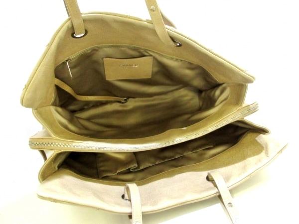 シャネル トートバッグ オンザロード/ワイルドステッチ A48020 6