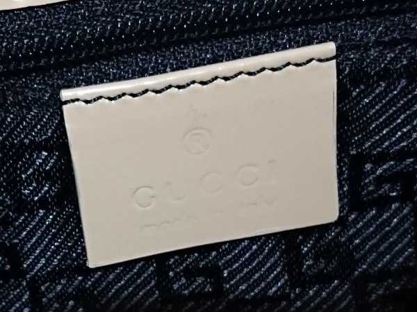 GUCCI(グッチ) ハンドバッグ ジャッキー 0021068 ベージュ レザー 8