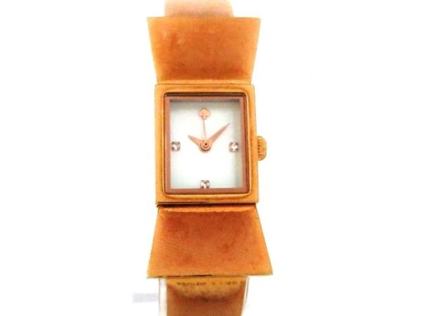 ケイト 腕時計 カーライル 0183 レディース リボン/シェル文字盤 1