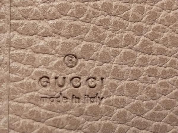 GUCCI(グッチ) パスケース美品  - 354500 ピンク レザー 4