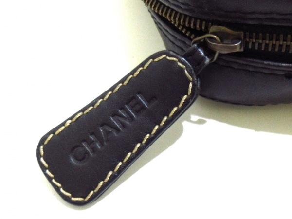 CHANEL(シャネル) ハンドバッグ ワイルドステッチ 黒 ラムスキン 12