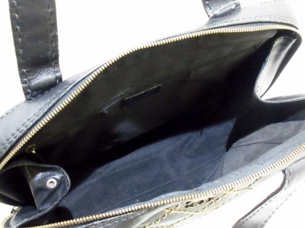 CHANEL(シャネル) ハンドバッグ ワイルドステッチ 黒 ラムスキン 6