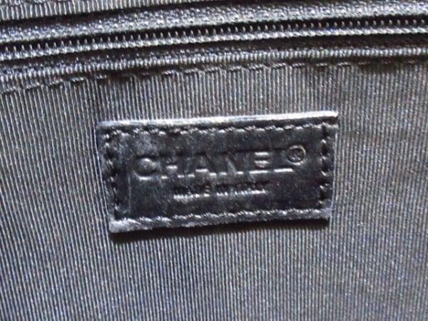 CHANEL(シャネル) ハンドバッグ ワイルドステッチ 黒 ラムスキン 7