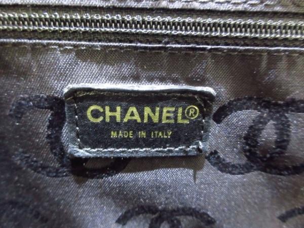 CHANEL(シャネル) ハンドバッグ ワイルドステッチ 黒 ゴールド金具 7