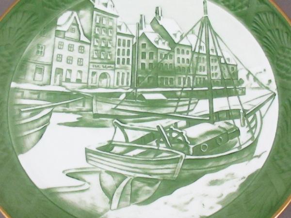 ロイヤルコペンハーゲン 小物新品同様  - カーキ×白×ゴールド 陶器 4