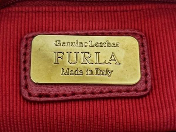 FURLA(フルラ) ハンドバッグ レディース パイパー ボルドー レザー 8