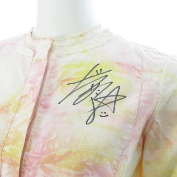 [チャリティ] 大前綾希子選手 サイン入りリメイクシャツA マルチ 3