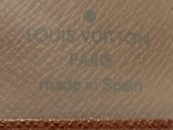 ルイヴィトン パスケース モノグラム ポルト2カルトヴェルティカル - 4